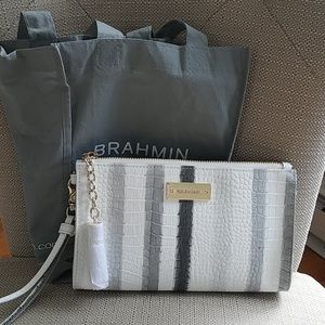 NWOT Authentic Brahmin Wrislet New with Pouch
